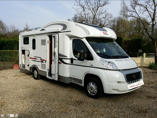 L 39 agence du camping car profil - Camping car profile lit central occasion ...