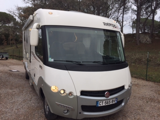 L 39 agence du camping car int gral - Camping car rapido occasion lit central ...